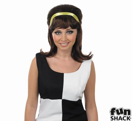 Womens Brown Beehive With Yellow Ribbon Thumbnail 1