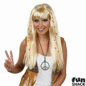Blonde Braided Hippie Wig