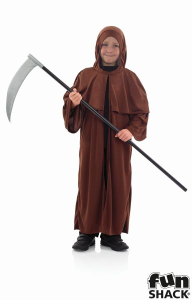 Boys Medieval Monk Fancy Dress Costume Thumbnail 2