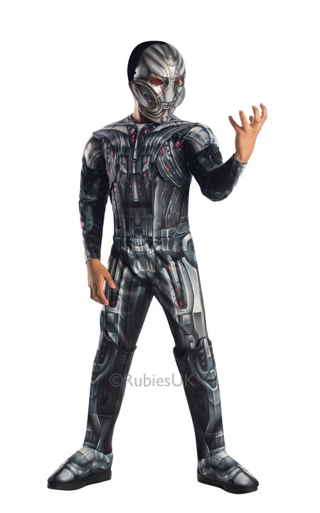 SALE! Childrens Deluxe Rubies Marvel Avengers Age Of Ultron Fancy Dress Costume Thumbnail 1