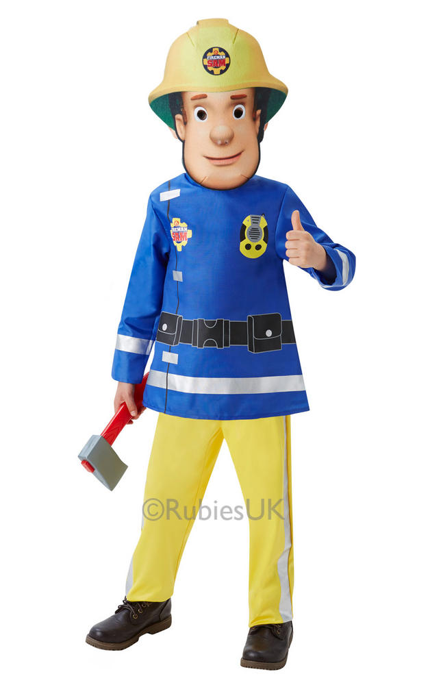 Toddler Fireman Sam Fancy Dress Costume