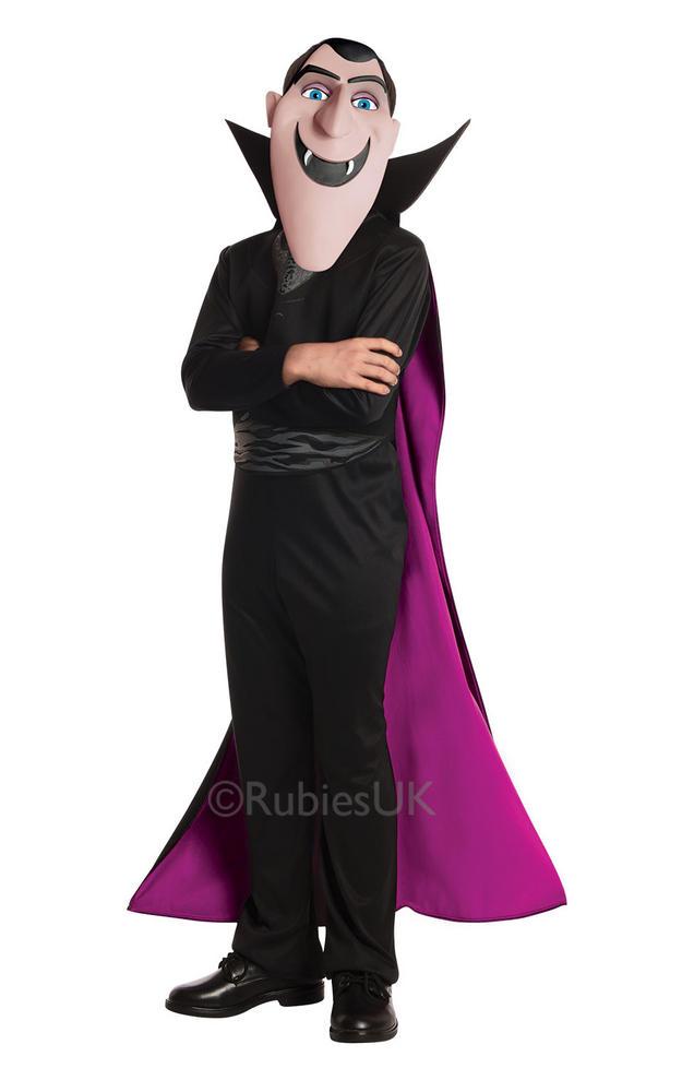 Boys Hotel Transylvania 2 Dracula Costume Kids Child Halloween Party Fancy Dress
