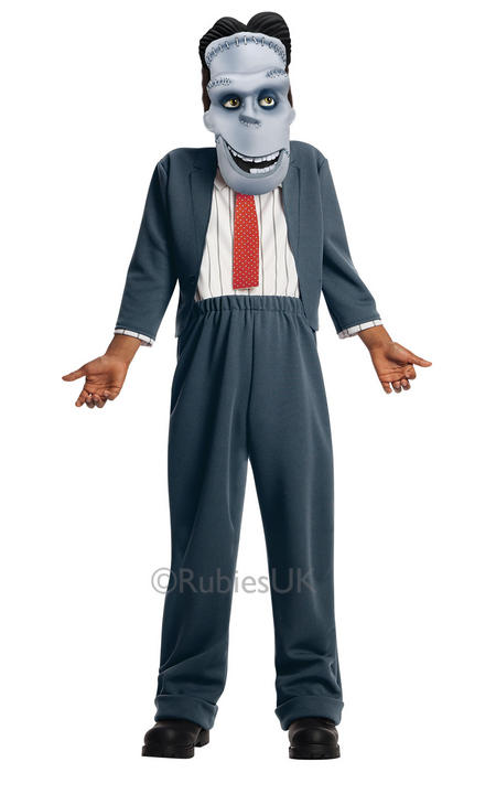 Hotel Transylvania 2 Boys Frankie Costume Fancy Dress Halloween Frankenstein Thumbnail 1
