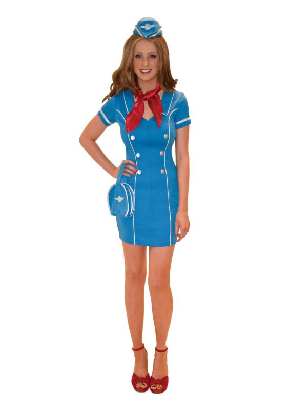 Frequent Flyer Fancy Dress Costume