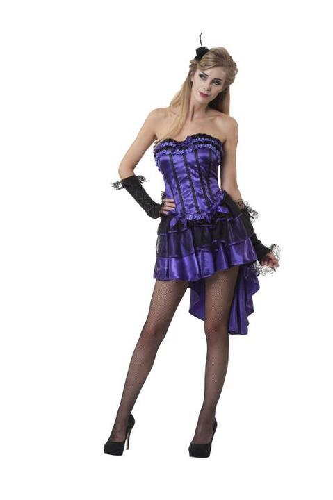 Women's Hurly Burly Fancy Dress Costume  Thumbnail 1