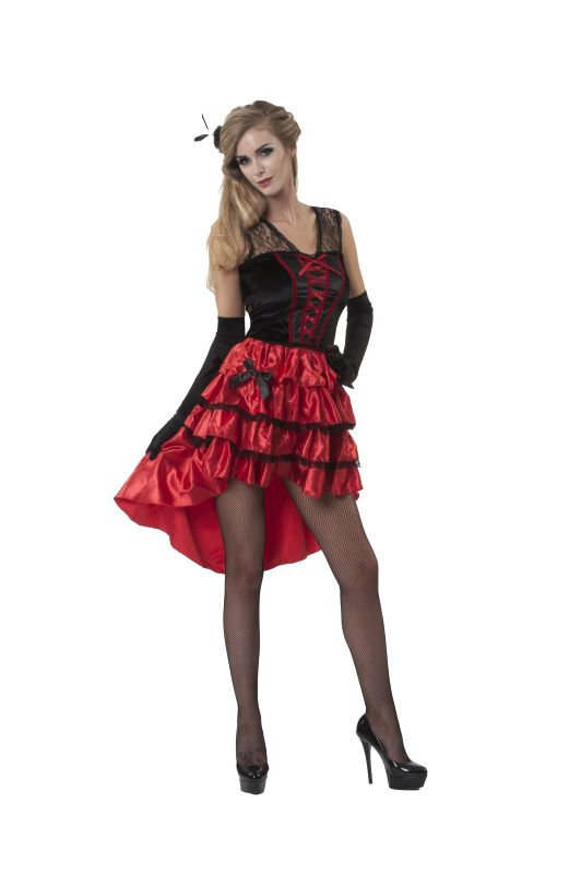 Women's Lola Jet 50s Fancy Dress Costume