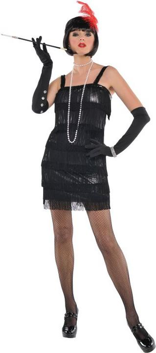 Flashy Flapper Fancy Dress Costume  Thumbnail 1