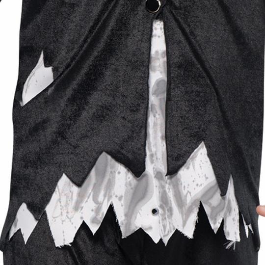 Adult Walking Dead Zombie Groom Mens Halloween Horror Fancy Dress Costume Outfit Thumbnail 5
