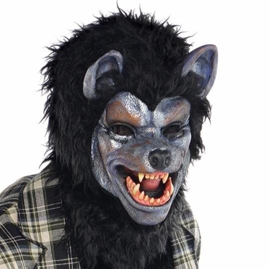 SALE Adult Rabid Werewolf Mens Halloween Horror Fancy Dress Costume Party Outfit Thumbnail 2
