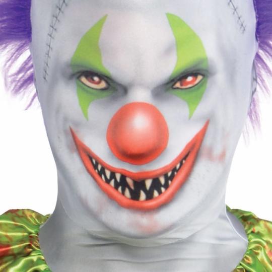 Mens Clown PartySuit  Fancy Dress Costume Thumbnail 2
