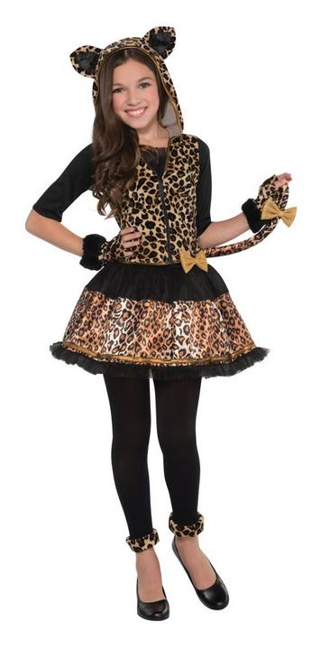 Girls Teen Sassy Spots Fancy Dress Costume Thumbnail 1