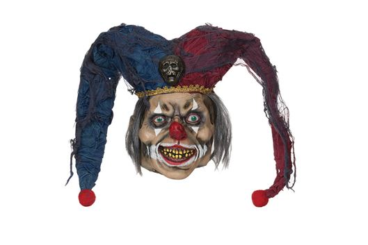 Adult Deranged Jester Mask