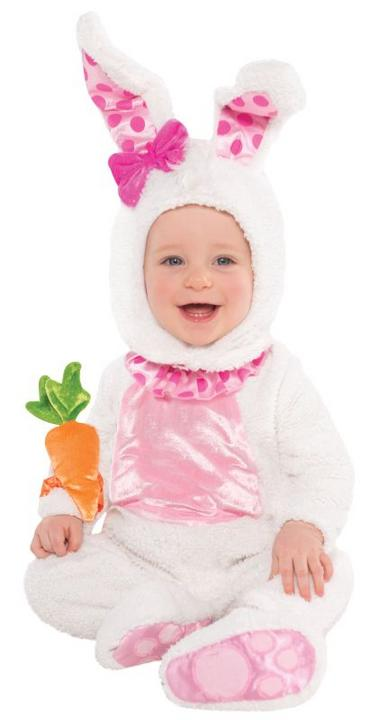 Girls Toddler Wittle Wabbit Fancy Dress Costume  Thumbnail 1