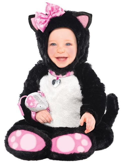 Girls Toddler Litty Bitty Kitty Fancy Dress Costume  Thumbnail 1