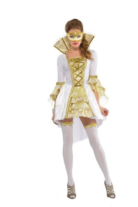 Women's Venezia Fancy Dress Costume  Thumbnail 1