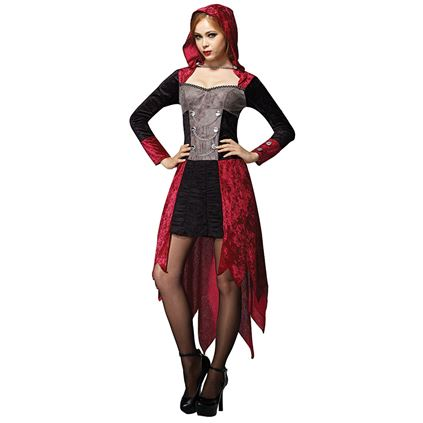 Adult Sexy Demon Gothic Maiden Ladies Halloween Party Fancy Dress Costume Outfit Thumbnail 1