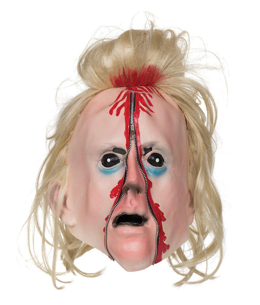 Adults Bloody Zip Mask