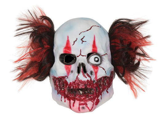 Adult Manic Clown Mask  Thumbnail 1