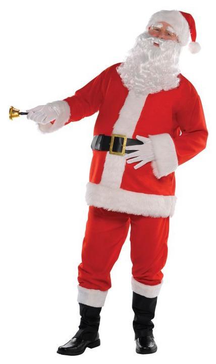 Adults Santa Classic Fancy Dress Thumbnail 1