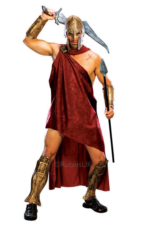 Deluxe Spartan Fancy Dress Costume Thumbnail 1