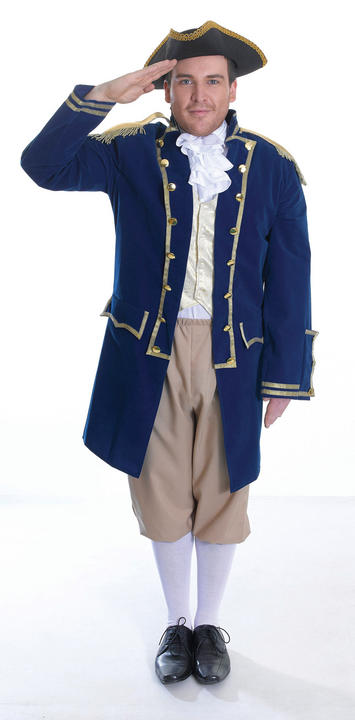 Mens Admiral of the Fleet Costume  Thumbnail 1