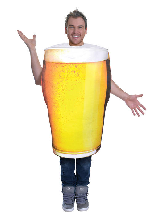 Adults Pint of beer costume  Thumbnail 1