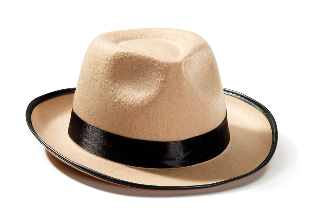 Adults Fedora Beige