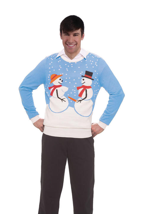 Snow Couple Sweater Thumbnail 1