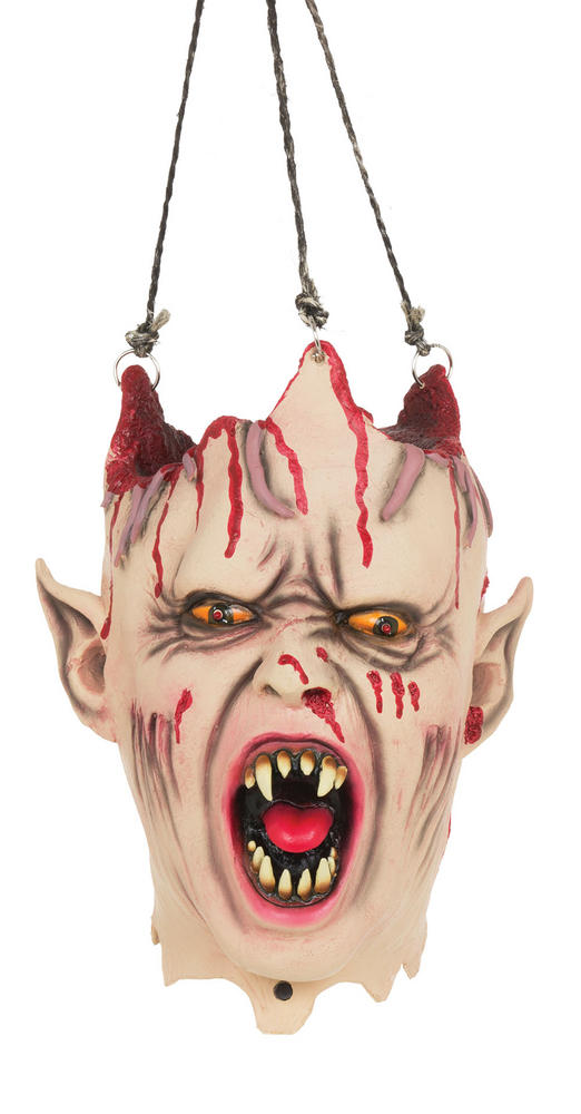 Vampire Hanging Head Sound + Light