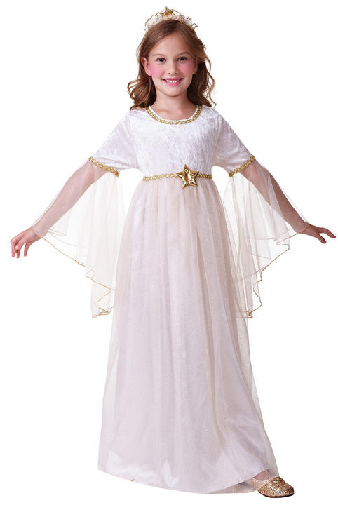Girls Angel Long Sleeves Costume  Thumbnail 2