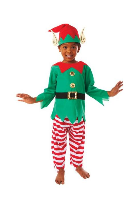 Boys Elf Fancy Dress Costume  Thumbnail 1
