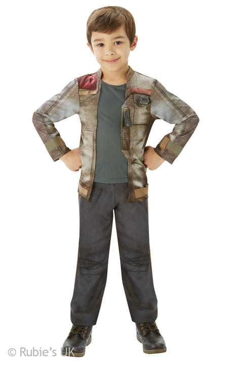 Boys star wars  Deluxe Finn Costume  Thumbnail 1