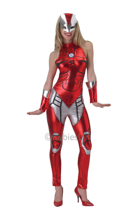 Womans Iron Man Rescue Jumpsuit costume  Thumbnail 1