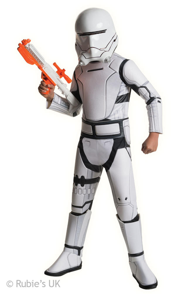Boys Super Deluxe Star Wars  Stromtrooper Red Costume