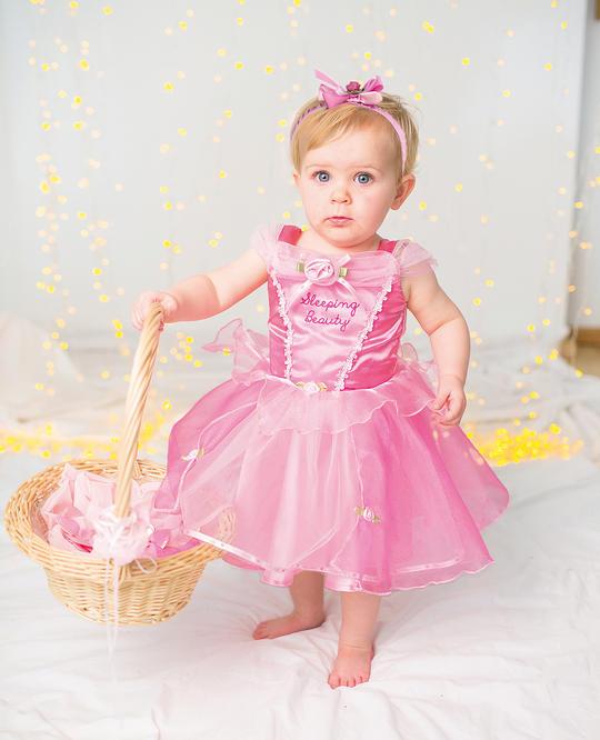 Disney Baby Girl Sleeping Beauty Princess Fancy Dress Costume  Thumbnail 2