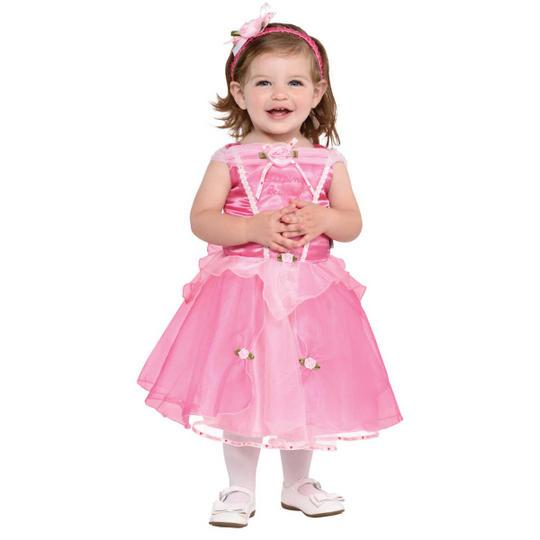 Disney Baby Girl Sleeping Beauty Princess Fancy Dress Costume  Thumbnail 1