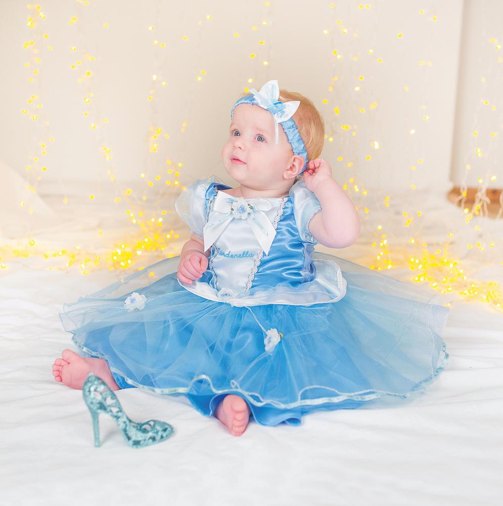 Disney Baby Girl Cinderella Princess Fancy Dress Costume