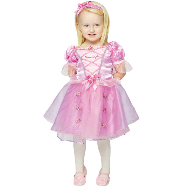 Disney Baby Girl Rapunzel Princess Fancy Dress Costume