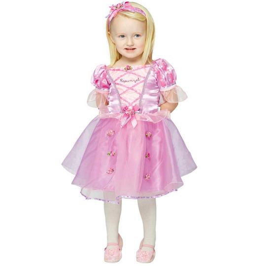 Disney Baby Girl Rapunzel Princess Fancy Dress Costume  Thumbnail 1