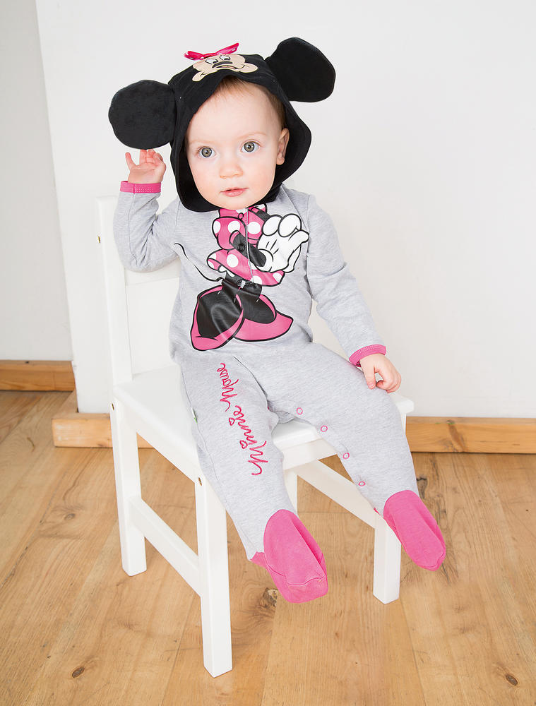 Disney Babys Minnie Mouse Jersy Romper Fancy Dress Costume