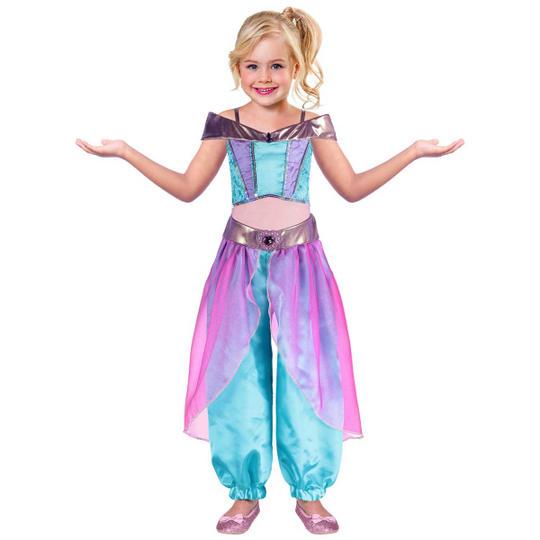 Girls Arabian Princess Costume Thumbnail 1