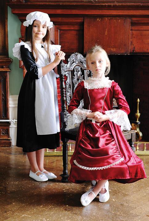 Girl's Millie MaidFancy Dress Costume  Thumbnail 2