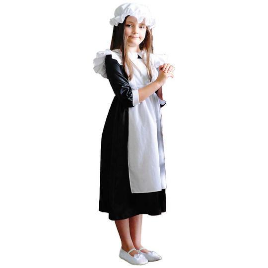 Girl's Millie MaidFancy Dress Costume  Thumbnail 1