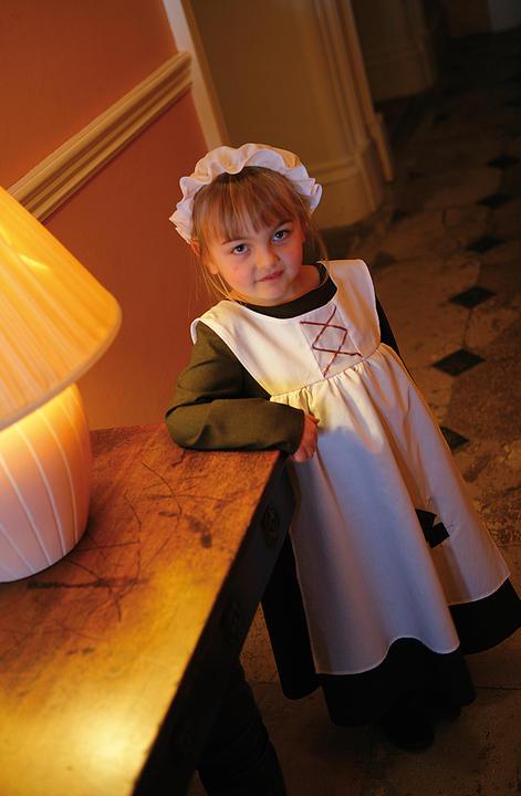 Girl's Ursula Urchin Fancy Dress Costume Thumbnail 2