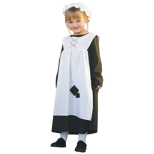 Girl's Ursula Urchin Fancy Dress Costume Thumbnail 1