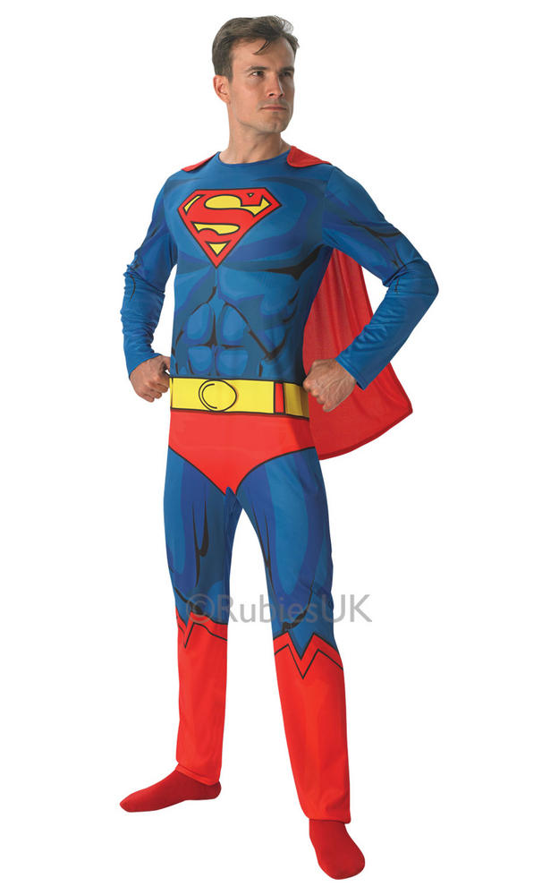 Mens Marvel Comic Book Superman Costume