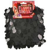 Flapper Black Hand Bag