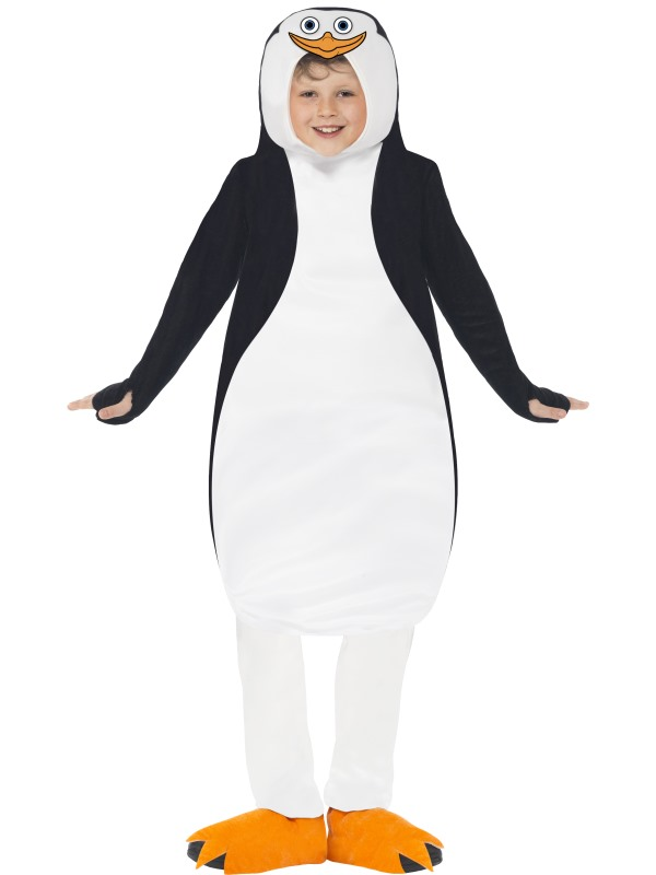World of Madagascar Childs Penguins Fancy Dress Costume
