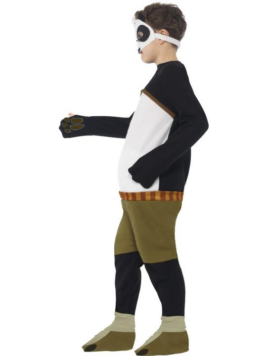 SALE! Boys Kung Fu Panda Po Costume Book Week Kids Film Cartoon Fancy Dress Thumbnail 3
