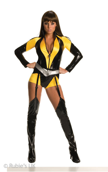 Watchmen Silk Spectre Fancy Dress Costume Thumbnail 1